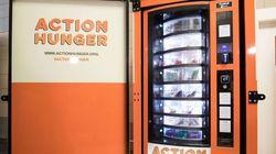 영국에 세계 최초로 노숙인을 위한 자판기가
