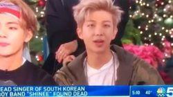 NBC가 故종현 소식에 방탄 RM 영상을