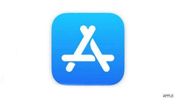 애플 앱스토어 로고가 자기네 로고를 베꼈다고 주장하는 회사가