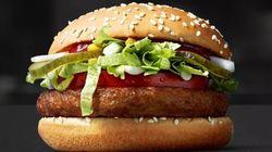 맥도날드가 채식주의자를 위한 버거를