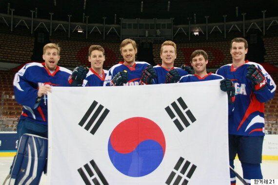 '비빔밥' 아이스하키팀