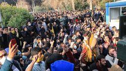 이란 반정부 시위가 전국으로 번지고