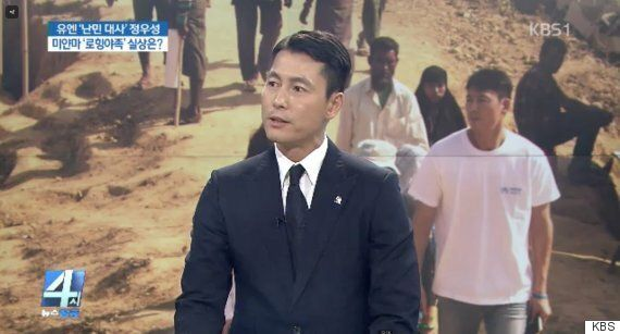 정우성이 KBS 인터뷰에서 'KBS 정상화'를