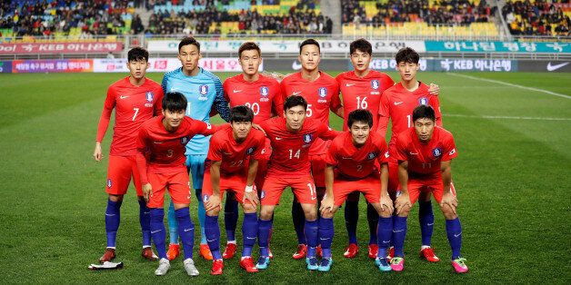 Soccer Football - International Friendly - South Korea v Colombia - Suwon World Cup Stadium, Suwon, South...