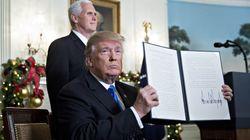 트럼프가 '예루살렘' 판도라의 상자를