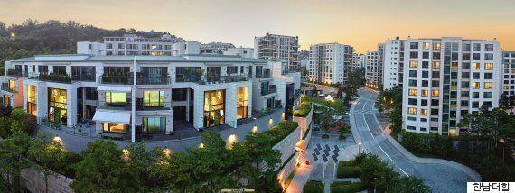 방탄소년단이 서울에서 가장 비싼 아파트로 숙소를