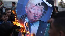 중동이 '반미 시위'로 들끓기