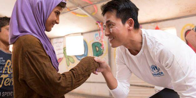 정우성이 로힝야 난민들을 만나러 방글라데시로