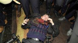 한국 기자 폭행한 경호원들은 중국 공안 퇴직자들이 세운 회사