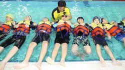 초등학생의 생존 수영 교육이