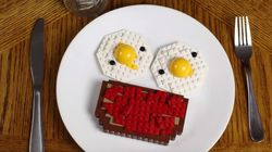 레고로 아침식사를
