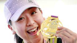 아사다 마오의 첫 마라톤 기록은
