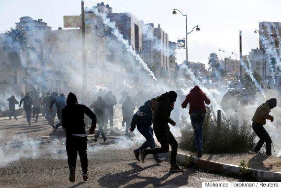 '인티파다' 외치는 팔레스타인...