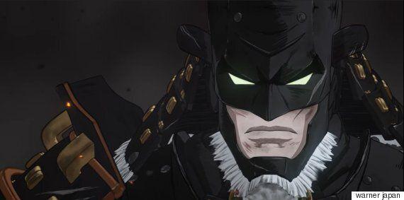 일본의 중세시대를 배경으로 한 '배트맨' 애니메이션이