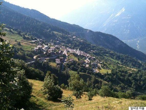 스위스 산골 마을로 이사를 가면 인당 2760만원 받을 수