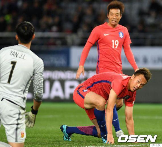 [한국 중국] '김신욱-이재성 골' 신태용호, 중국과 2-2