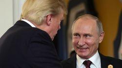 푸틴이 트럼프에게 감사 전화를