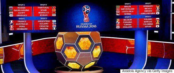 월드컵 조추첨 결과를 본 선수들의 반응은