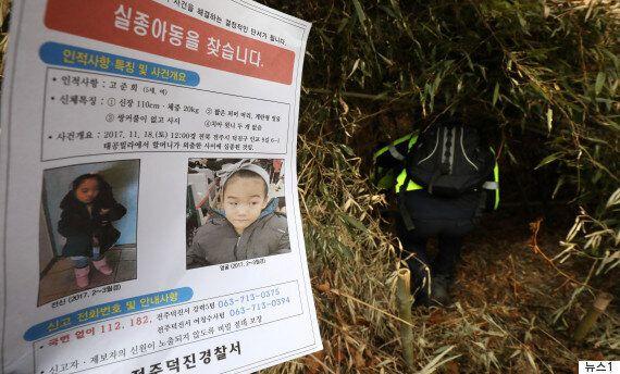 준희양 수색작업, 전북 경찰 190명