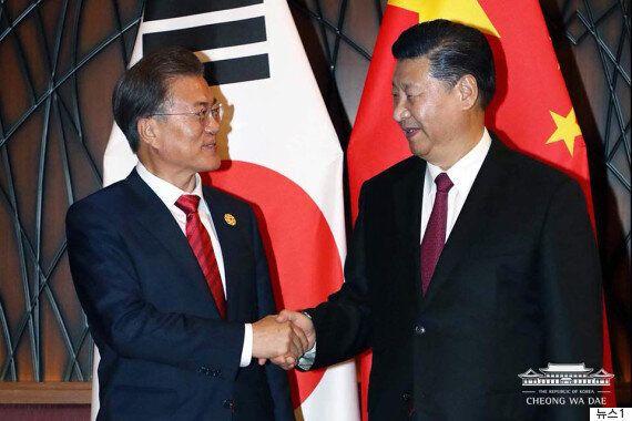 문재인 대통령과 시진핑 주석이 한 목소리를