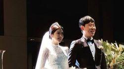 야구선수 윤석민과 배우 김수현이