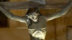 예수 조각품에서 240년 된 비밀이