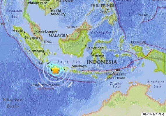 인도네시아 자바섬에서 규모 6.5 지진이