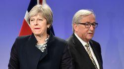 영국-EU '브렉시트' 1차 협상 타결 실패의