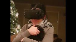 엄마는 가상현실 영상이 너무