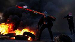 팔레스타인 '분노의 날' 집회가 격렬해지고