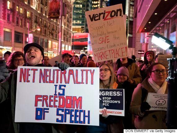 트럼프 정부가 자유로운 오픈 인터넷 '망중립성'을 죽이려고