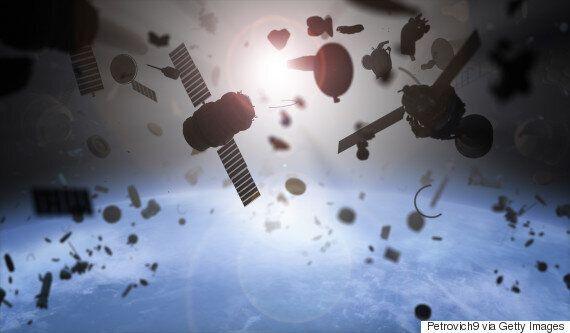 일본 자위대가 '우주감시부대'를