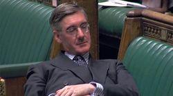 Ce ministre pro-Brexit affalé au Parlement vaut le