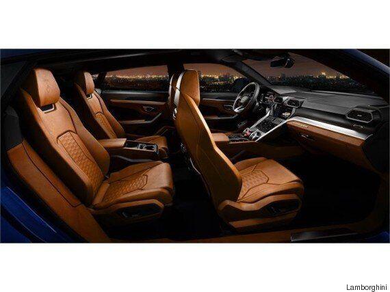 람보르기니가 만든 SUV '우르스'가 마침내 공개됐다