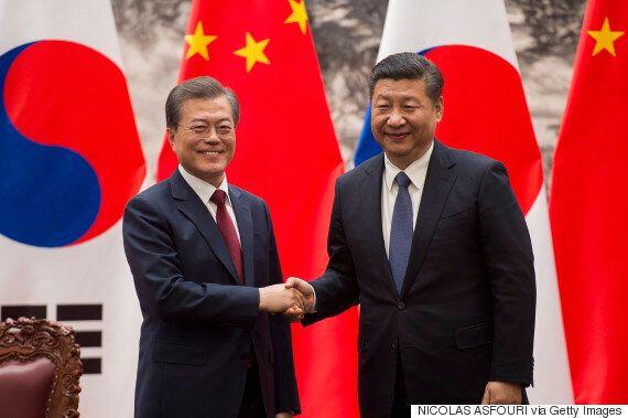 시진핑 주석이 문재인 대통령에게 건넨 선물이