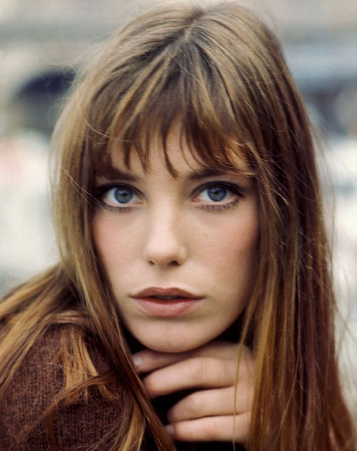 Jane Birkin, seen here in 1960, made bangs the epitome of French-girl cool.