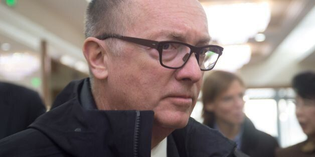 Jeffrey Feltman, the UN's under secretary general for political affairs, arrives at the Pyongyang International...