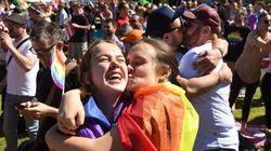 호주가 동성결혼 법제화에 '찬성' 표를