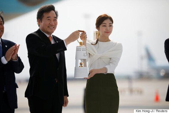 김연아가 UN에서 평창올림픽 휴전 결의안 채택을