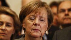 메르켈이 최대의 정치적 위기를