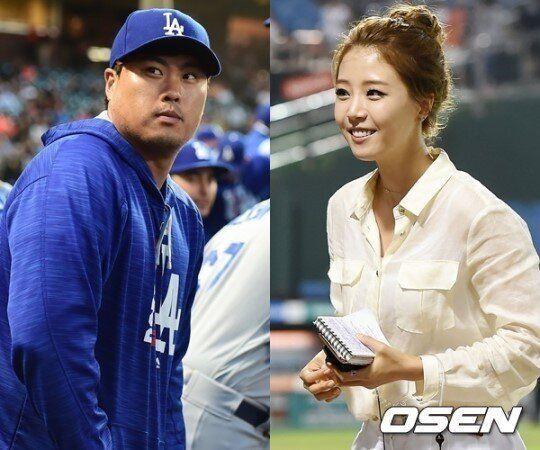 [공식입장] 류현진♥배지현, 부부 된다...내년 1월 5일