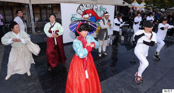 임병두 소속 댄스팀이 '국정원' 후원 단체였음을 보여주는 문건