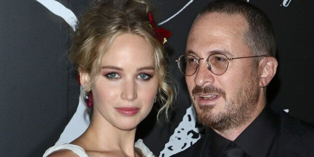 NEW YORK, NY - SEPTEMBER 13: Actress Jennifer Lawrence and director Darren Aronofsky attend the 'mother!'...