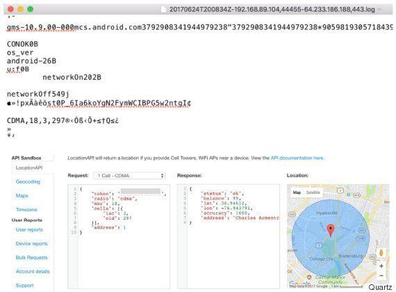 구글이 설정을 '꺼놓은' 안드로이드 이용자들의 위치정보를