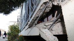 지진 피해 사진을 올렸더니 '아파트 사진 내려달라'는 메시지가