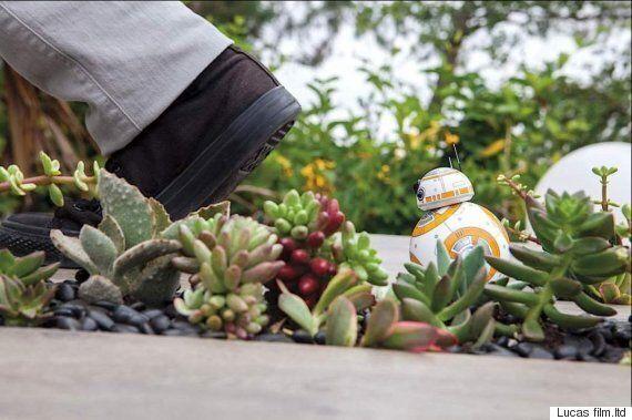 레고가 '스타워즈'의 BB-8도 레고로