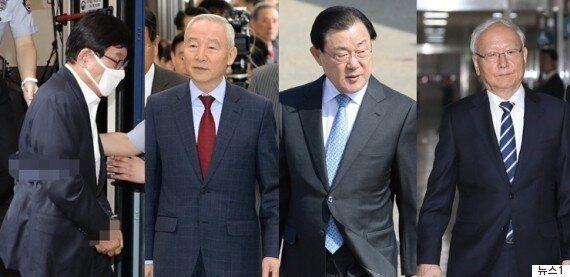 검찰, 남재준·이병호 전 국정원장 구속영장