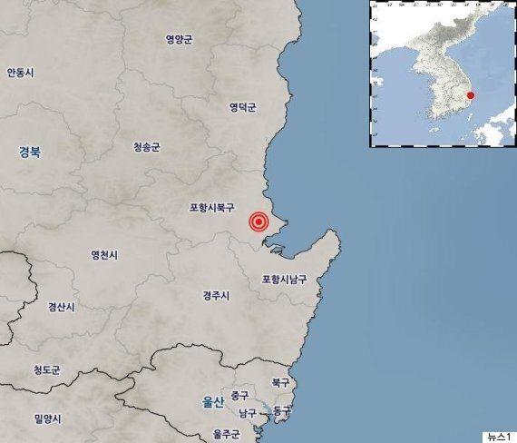 [속보] 경북 포항에서 규모 5.5 지진이