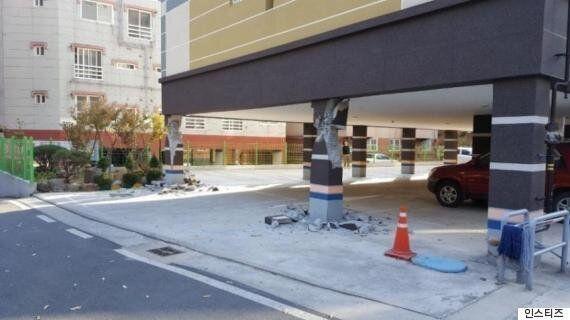 이러한 구조의 건물은 지진에 특히