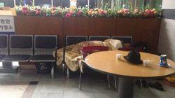'태극기 집회' 노인들이 6달 동안 경찰서 불침번 서는
